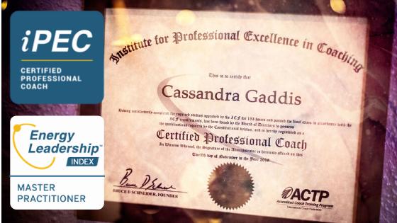 Caz Gaddis iPEC Grad Professional Coach ELI Master Practioner